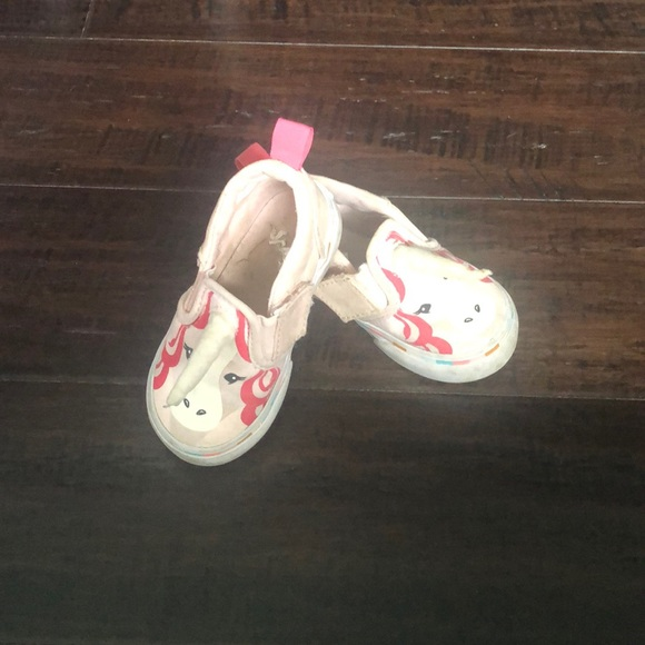 Vans Other - Unicorn vans baby shoes